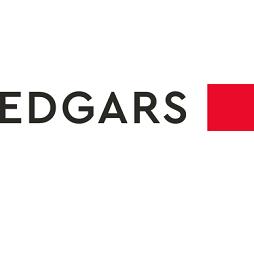 Ladies Crocodile Embossed Shoulder Handbag - Black