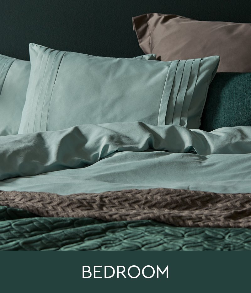 From stylish duvet covers and other bed linen (including sheets and blankets) to textured throws, rugs, fragrance diffusers, candles, wall art and more.
