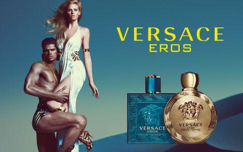Versace Eros Pour Femme and Pour Homme